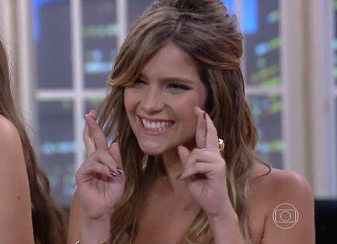 Isabella torceu muito por Rafael Vitti (Foto: TV Globo)