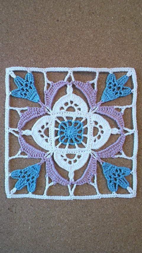 Felissimo Turkish Tile nº 10 布花アクセサリーDN25の画像 | 野の花手芸噺