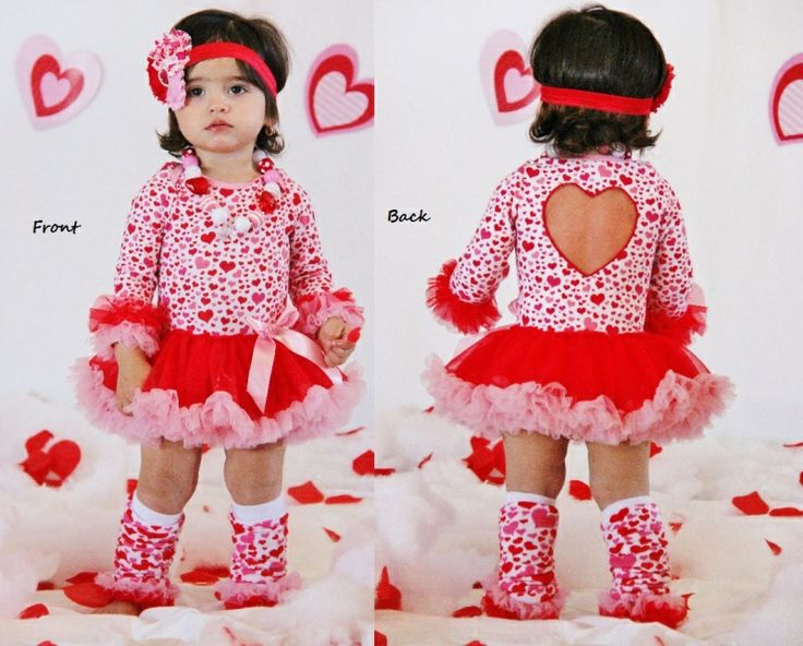 heart valentine tutu onesie with heart cut out in stock - Girls Valentine Outfits