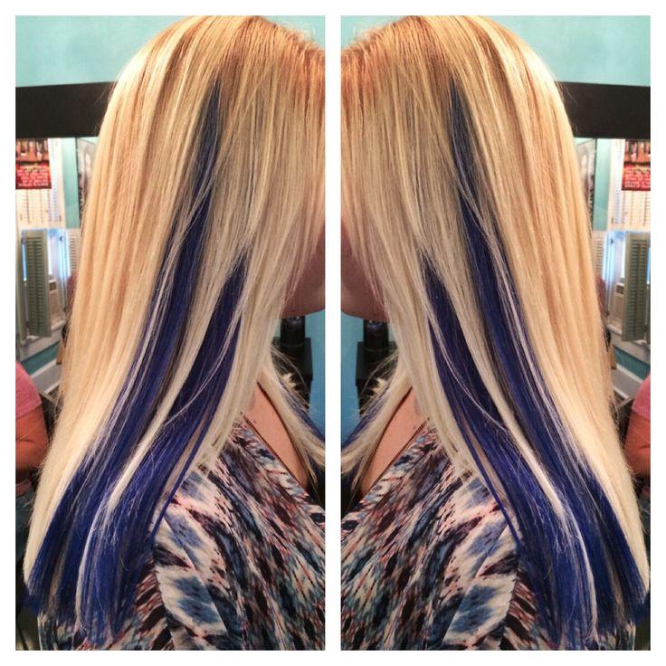 Platinum Blonde With Purple Underneath Google Search