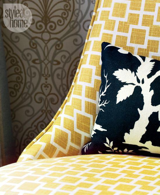 Don't be afraid to play with pattern! {Photography by Virginia Macdonald}