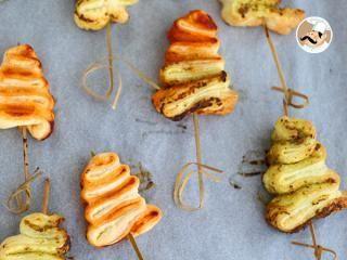 Sapins feuilletés au pesto, Photo 3