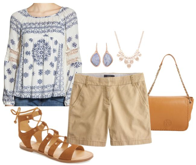 5 Classy Ways To Look Cute In Shorts Over 40 Fashion Pinterest Fashion Fashion Over And Fashion Over 40