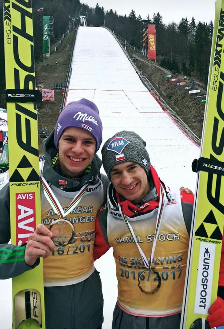 Andreas Wellinger und Kamil Stoch