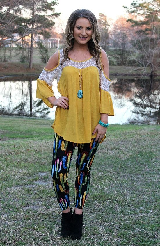 All For You Open Shoulder Top in Mustard – Giddy Up Glamour Boutique