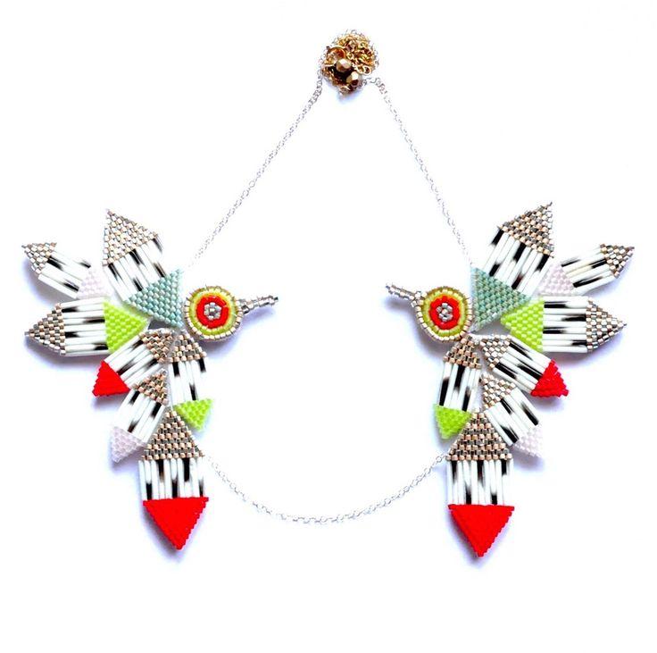 Red Hummingbird Necklace | Beyond Buckskin Boutique