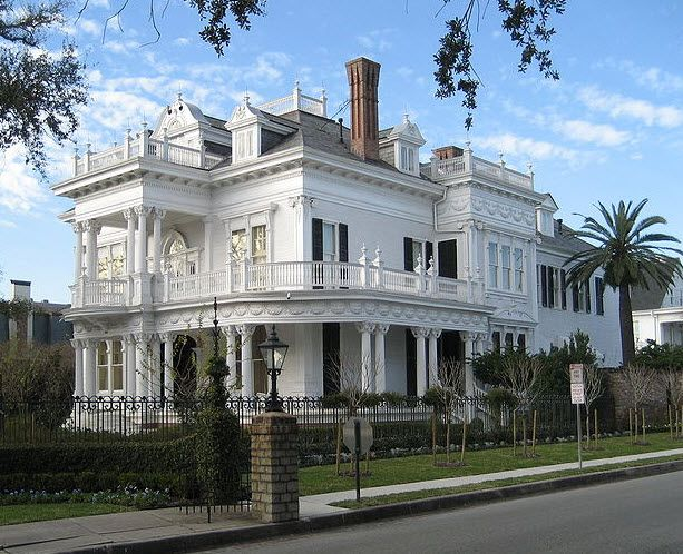 44 Best Garden District Mansions New Orleans Images On