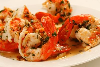 There is really no better way to enjoy prawns than this preparation in my opinion. Lots of garlic and olive oil with a touch of wine, parsley and spice. It's awesome and in 15 years cooking professionally, this is king.