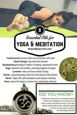 8 Essential Oils for Yoga & Meditation - Drops of Joy Jewelry