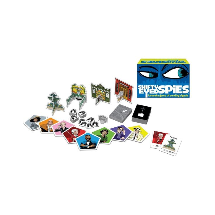 Shifty Eyed Spies Board Game : Target