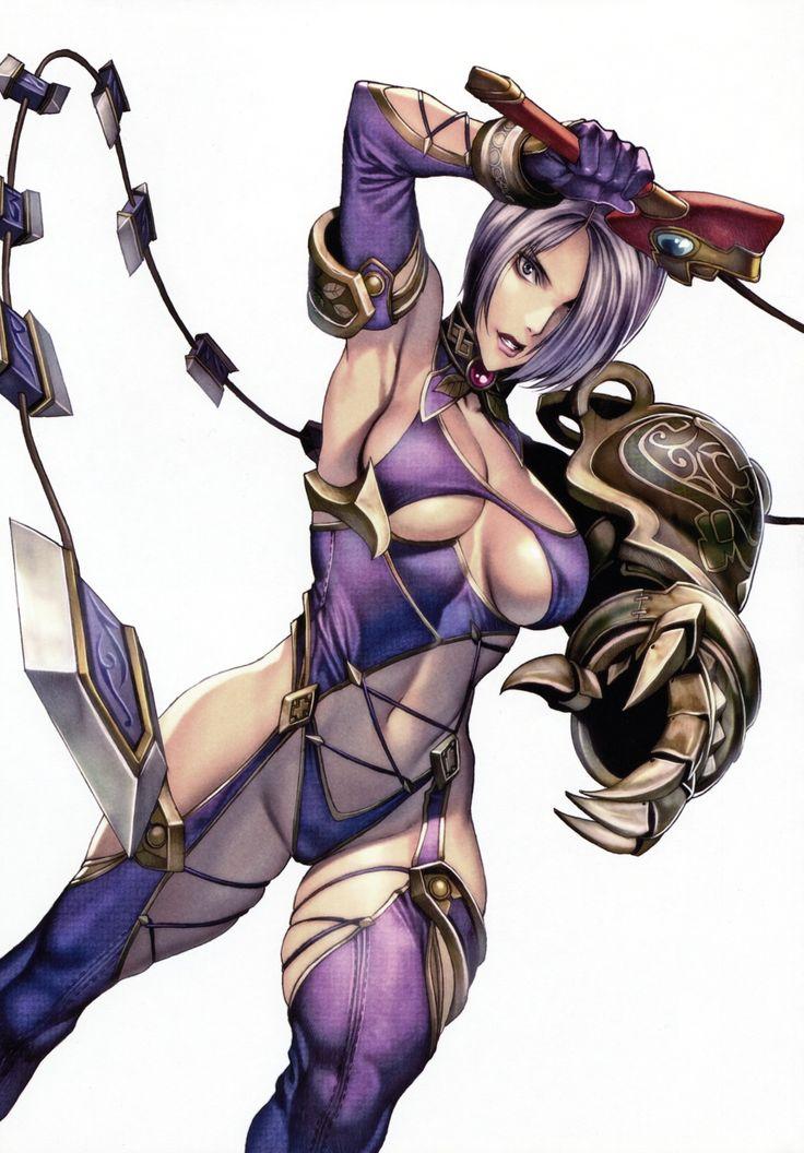 Soul Calibur Ivy.