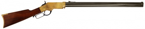 "Winchester 1866 ""Yellow Boy"" (mocked up as a Henry 1860)"