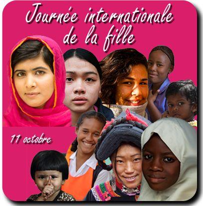 """Résultat de recherche d'images pour """"11 octobre marque la Journée internationale de la fille"""""""
