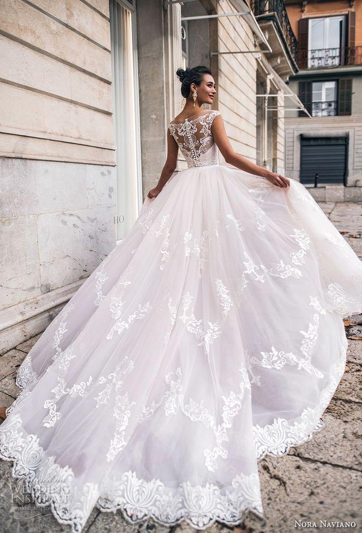 "Nora Naviano 2019 Wedding Dresses — ""Voyage"" Bridal Collection"