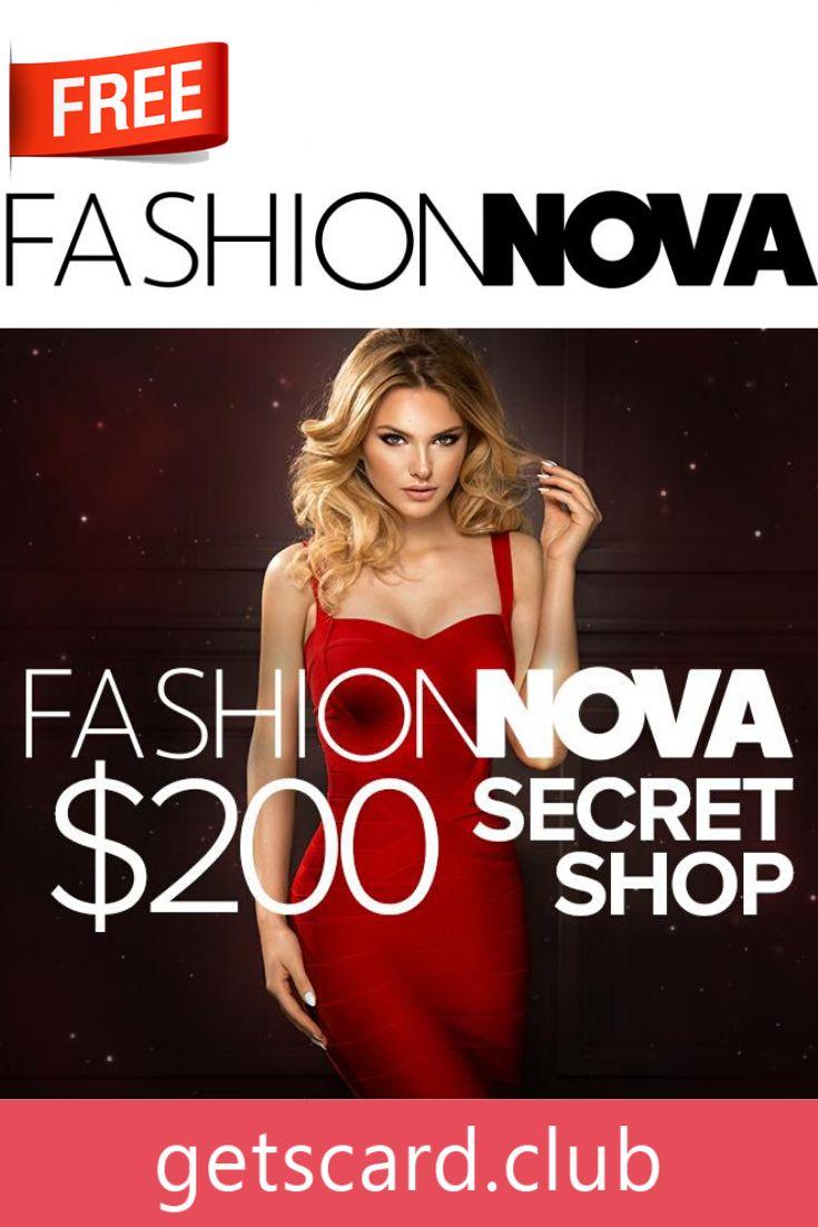 Free 200 fashionnova giftcard generator club in 2020