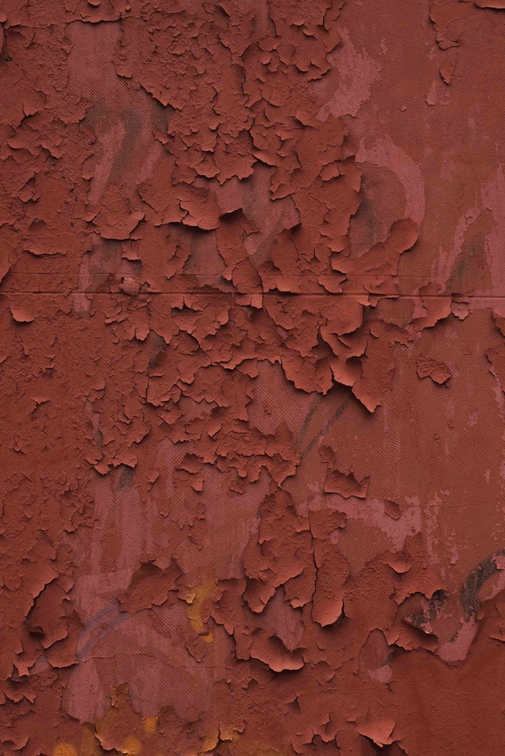 rust colored pattern in-#19