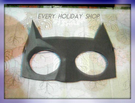 Mens Batman Mask Batman Costume Mask Halloween by EVERYHOLIDAY