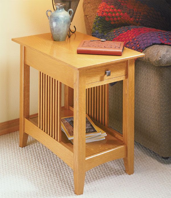 Craftsman end table plans possible project woodworking for Latest side table designs