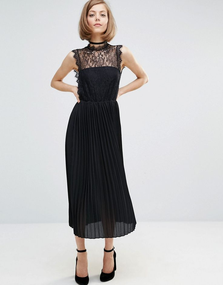 Image 1 ofLost Ink Lace Layer Dress