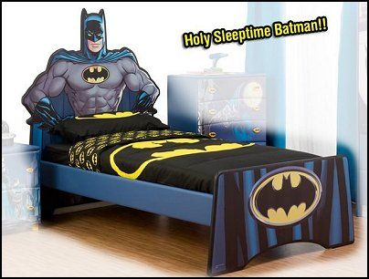 Amazing Batman Super Hero Single Bed