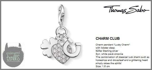 Thomas Sabo Fall 2012 - The Charm Club - Lucky Charm - http://www.endangeredtrolls.com/thomas-sabo-fall-2012-charms-2/#