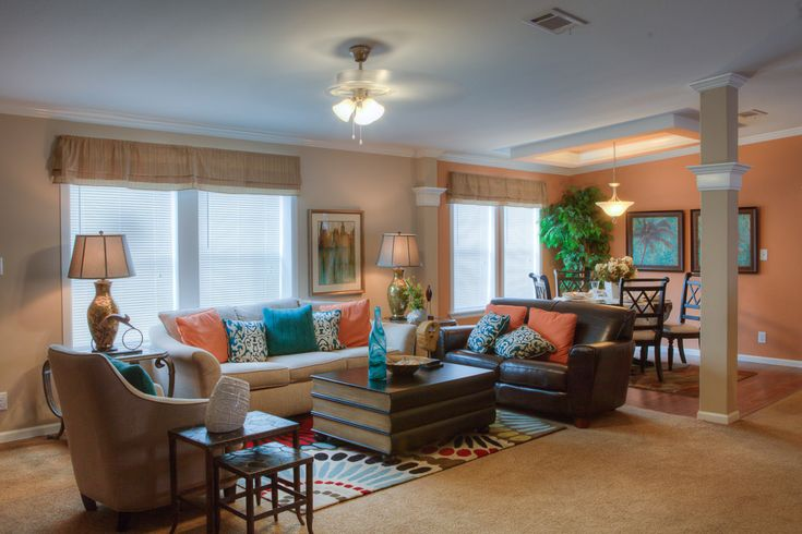Love The Contrasting Colors In The Kennedy Manufactured Home By Palm Harbor Homes In Plant City