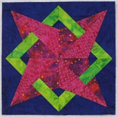 Nell's Star Quilt Block Pattern