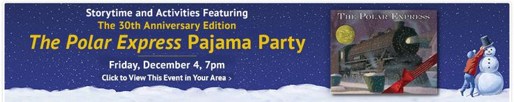 The Polar Express Pajama Party - http://gimmiefreebies.com/topic/the-polar-express-pajama-party/