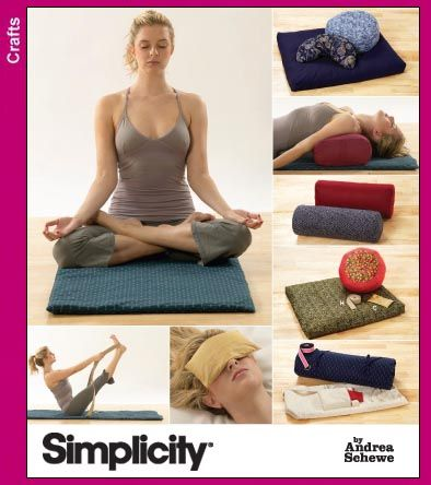 Yoga bolster pattern