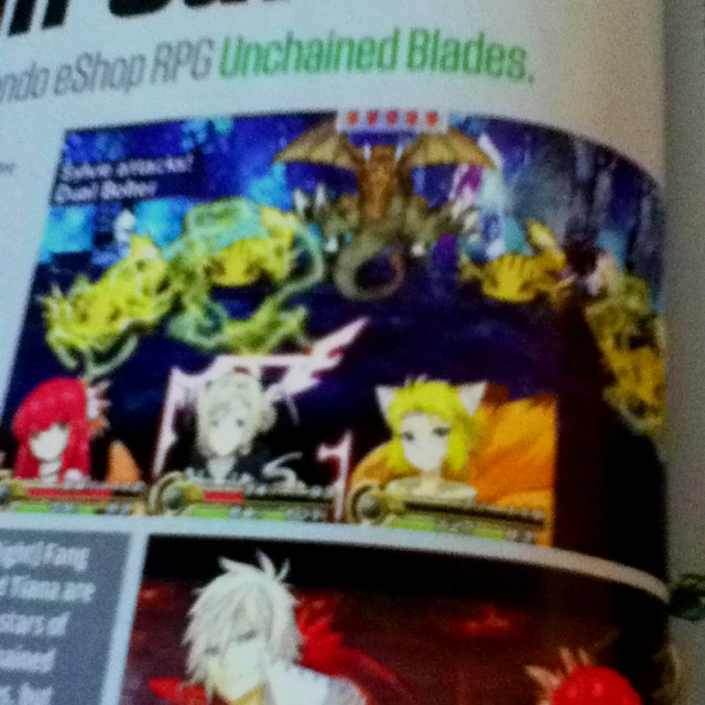 Wow! This is a 3DS eShop game?! The graphics are amazing! #UnchainedBlades (from Nintendo Power): Gamer Girls, Eshop Games, 3Ds Eshop, Nintendo Power