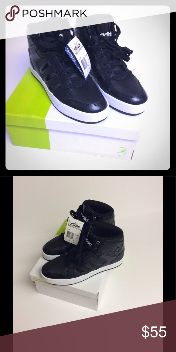 Women's Adidas Neo Raleigh High-Top Sneakers Brand new, never worn with tags Adidas Shoes Athletic Shoes