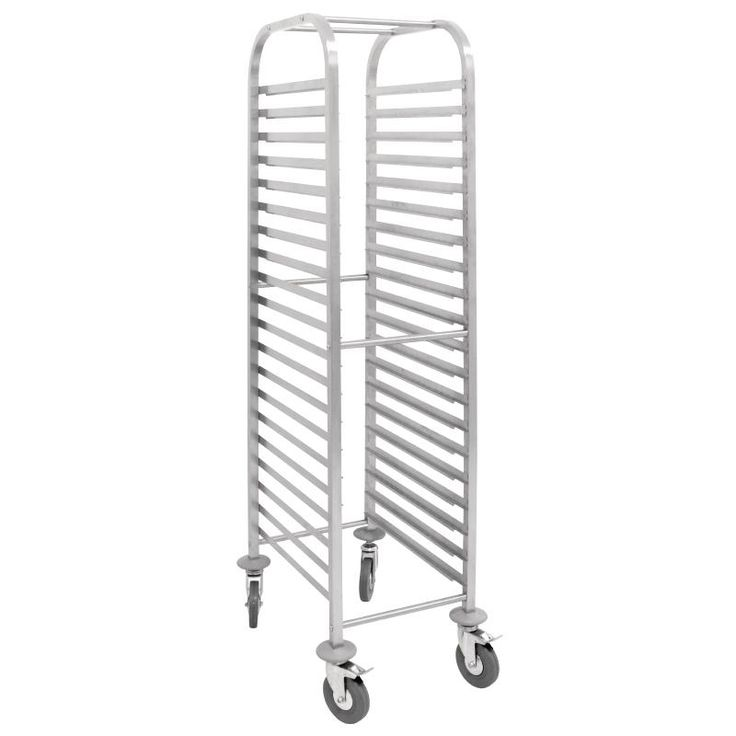 Vogue Gastronorm Racking Trolley - U376 - Buy Online at Nisbets