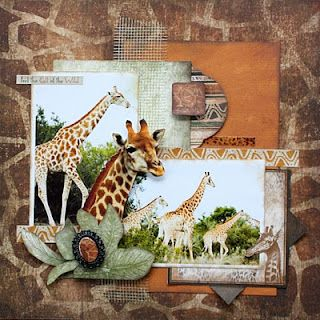 great zoo layouts i really like the giraffe pops off the page would be great to outline  cut a picture