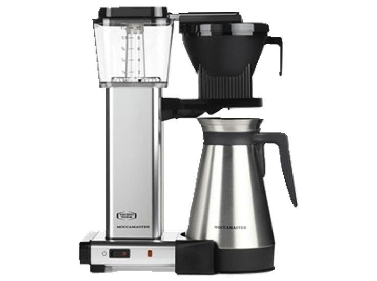 MOCCAMASTER 79357 KBGT741 TERMOS SILVER - 5 års garanti Kaffebryggare - Handla online hos Media Markt