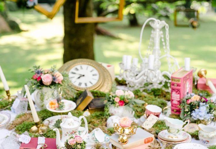 Alice im Wunderland als Hochzeitsthema