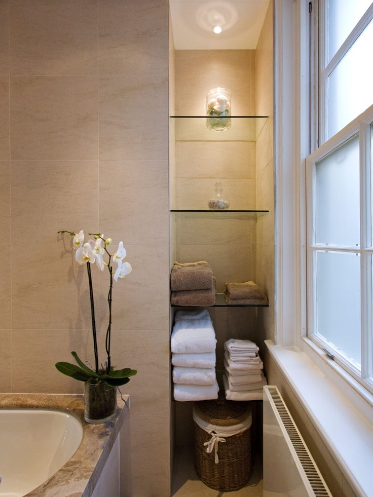 14 best space saving bathrooms images on pinterest - Luxury bathrooms in small spaces ...