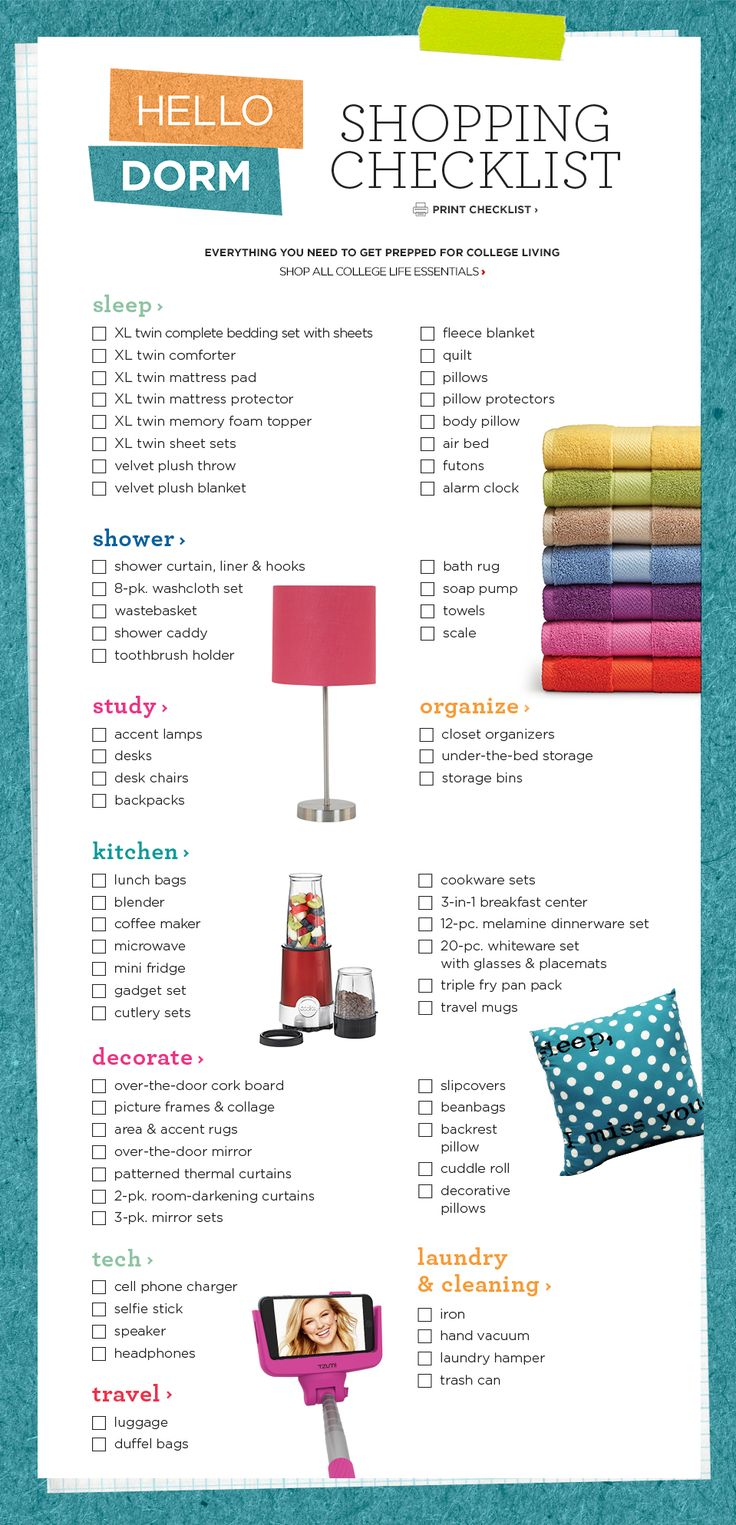 Living Room Items List 1000 Ideas About College Dorm Checklist Essentials