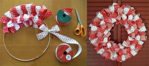 Ideas para guirnaldas navideñas / Idéias para guirlandas de Natal / Christmas Wreath DIY