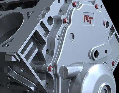 """Check out new work on my @Behance portfolio: """"RT3 V8 Crate Motor"""" http://on.be.net/1Q4Tp3G"""