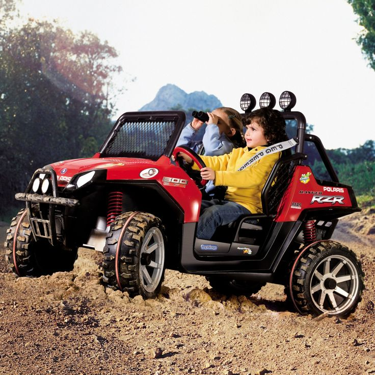 Peg Perego Polaris Ranger RZR ATV Battery Powered Riding Toy - IGOD0516US