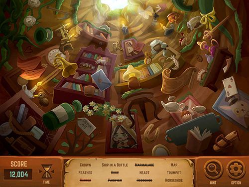 Alice in Wonderland - iPhone game screenshots. Gameplay Alice in Wonderland.