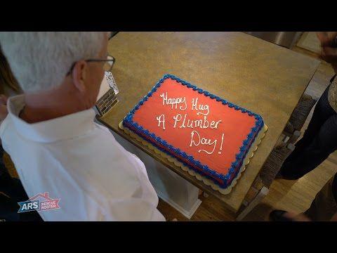 Happy Hug a Plumber Day! - YouTube