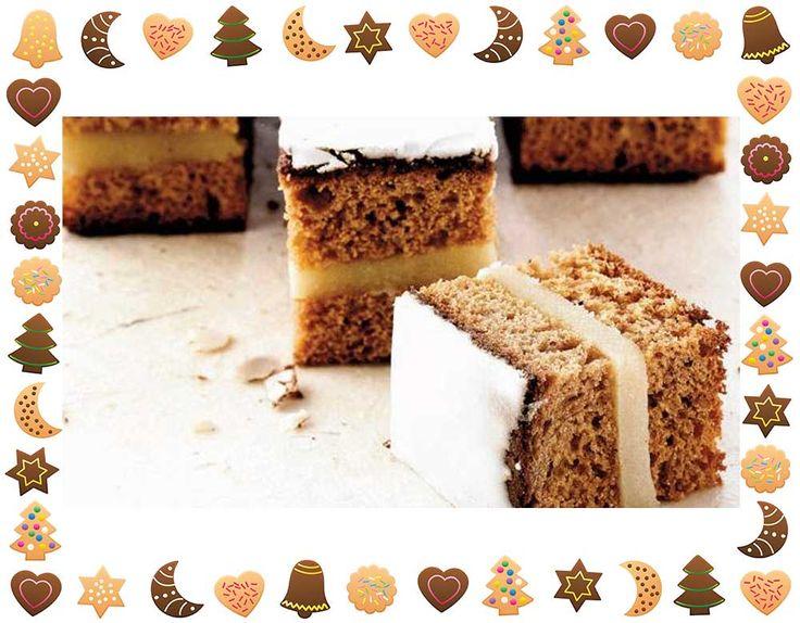 Spis den som honningbrød med smør og/eller abrikosmarmelade. Eller flæk kagen, læg den sammen igen omkring marcipan, og pynt med flormelisglasur.