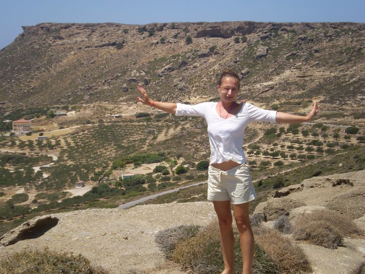 Beautiful landscape in Crete, somewhere near Vai