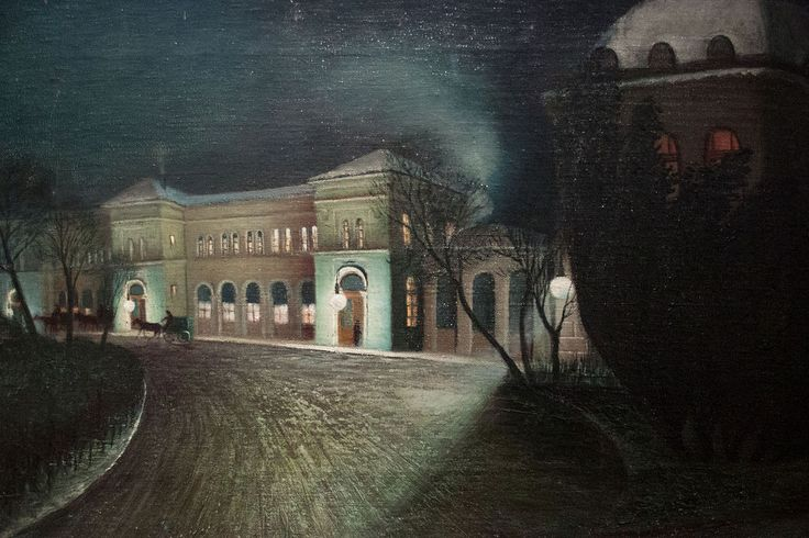 The Eastern Station at Night - Csontváry Kosztka Tivadar – Wikipédia