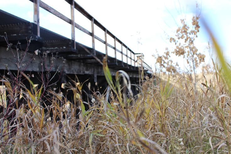 Vegreville train bridge