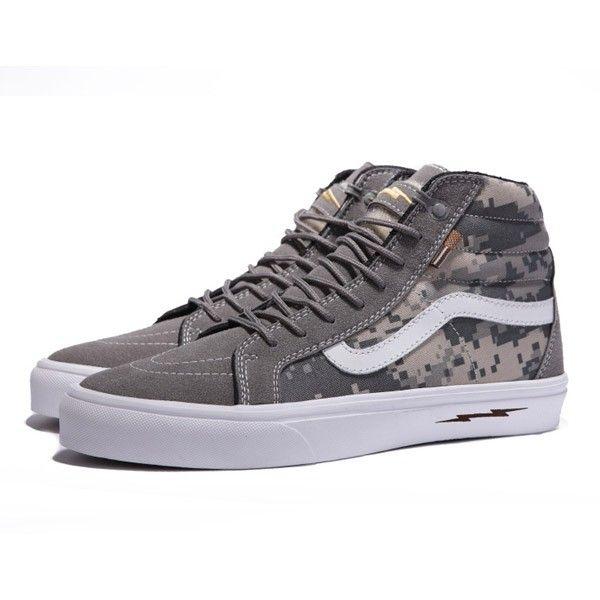 bf3ac5dd36b0c2 Vans Sk8-Hi Shoes MensWomens Classic Canvas Sneakers Camo Grey Defcon X  Syndicate  vans4u4131  -  39.99   Vans Shop