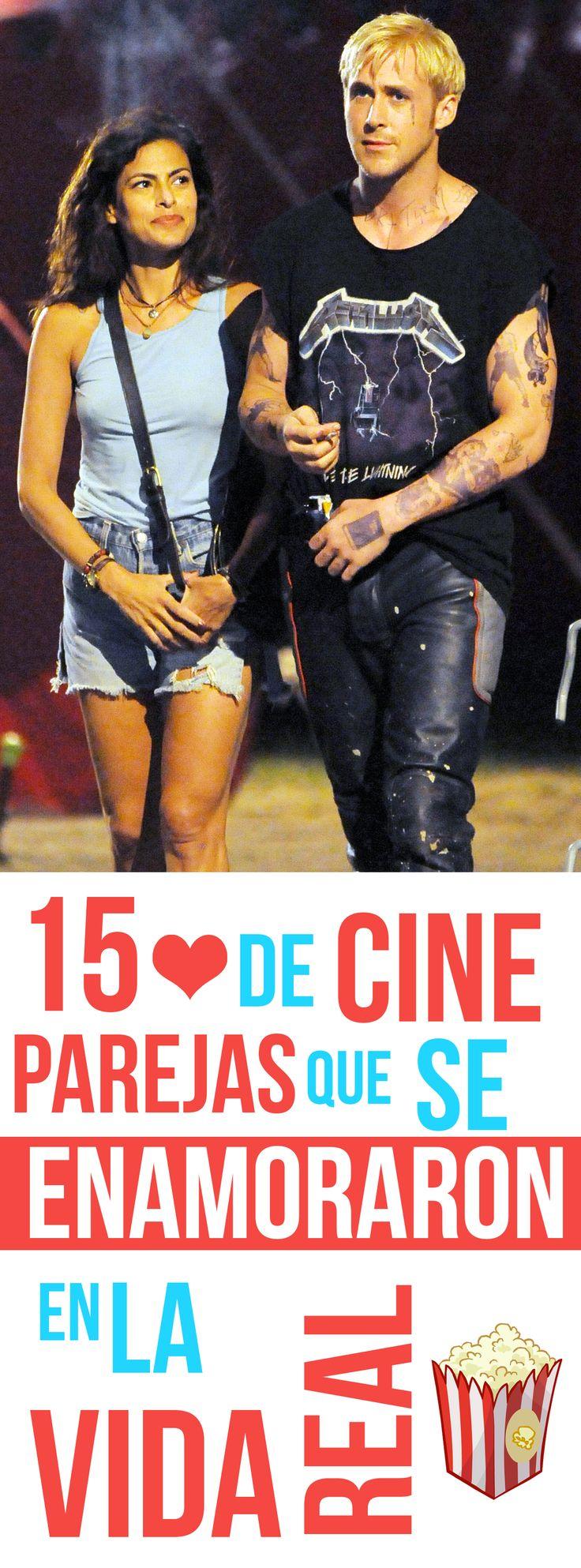 15 Parejas de CINE que se enamoraron EN LA VIDA REAL!