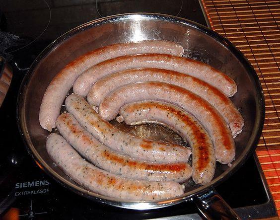 How to cook German Bratwurst - German Recipes - German Food | Best German Recipes and German Food