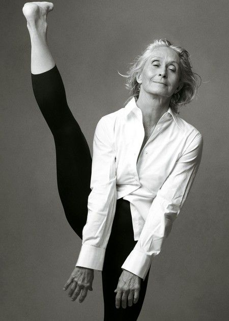 """Twyla Tharp  Her recent book is wonderful and more complex than it looks at first: """"The Creative Habit"""""""